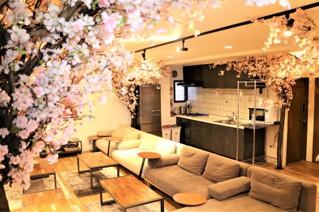 コロナと花粉が襲い来る今、『室内花見』が推し!快適な空間でお花見を。|TIME SHARING|タイムシェアリング|スペースマネジメント|あどばる|adval|SHARING