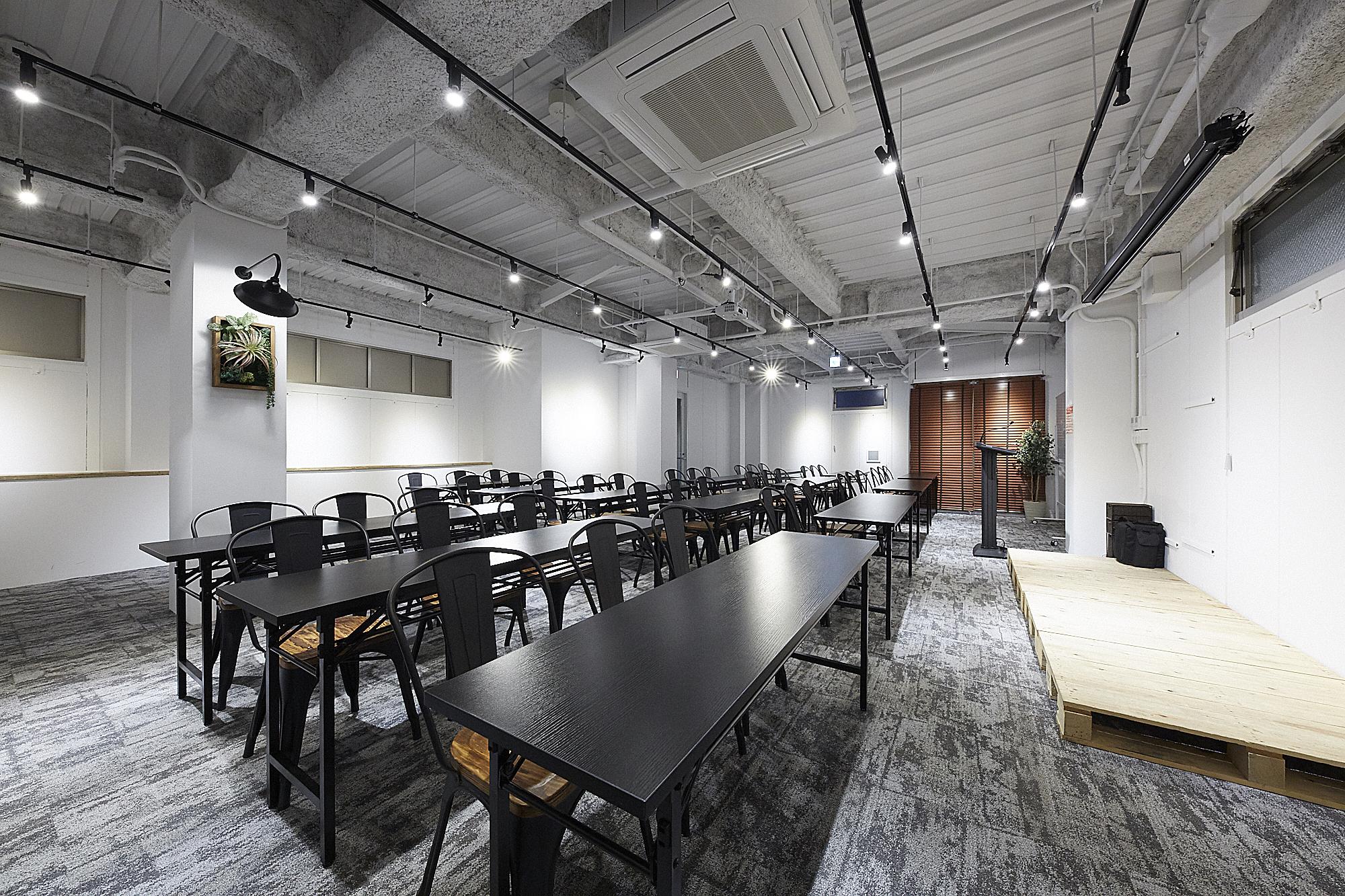 おしゃれ空間でいつもと違う会議を♪TIME SHARING五反田Ⅰ|TIME SHARING|タイムシェアリング|スペースマネジメント|あどばる|adval|SHARING