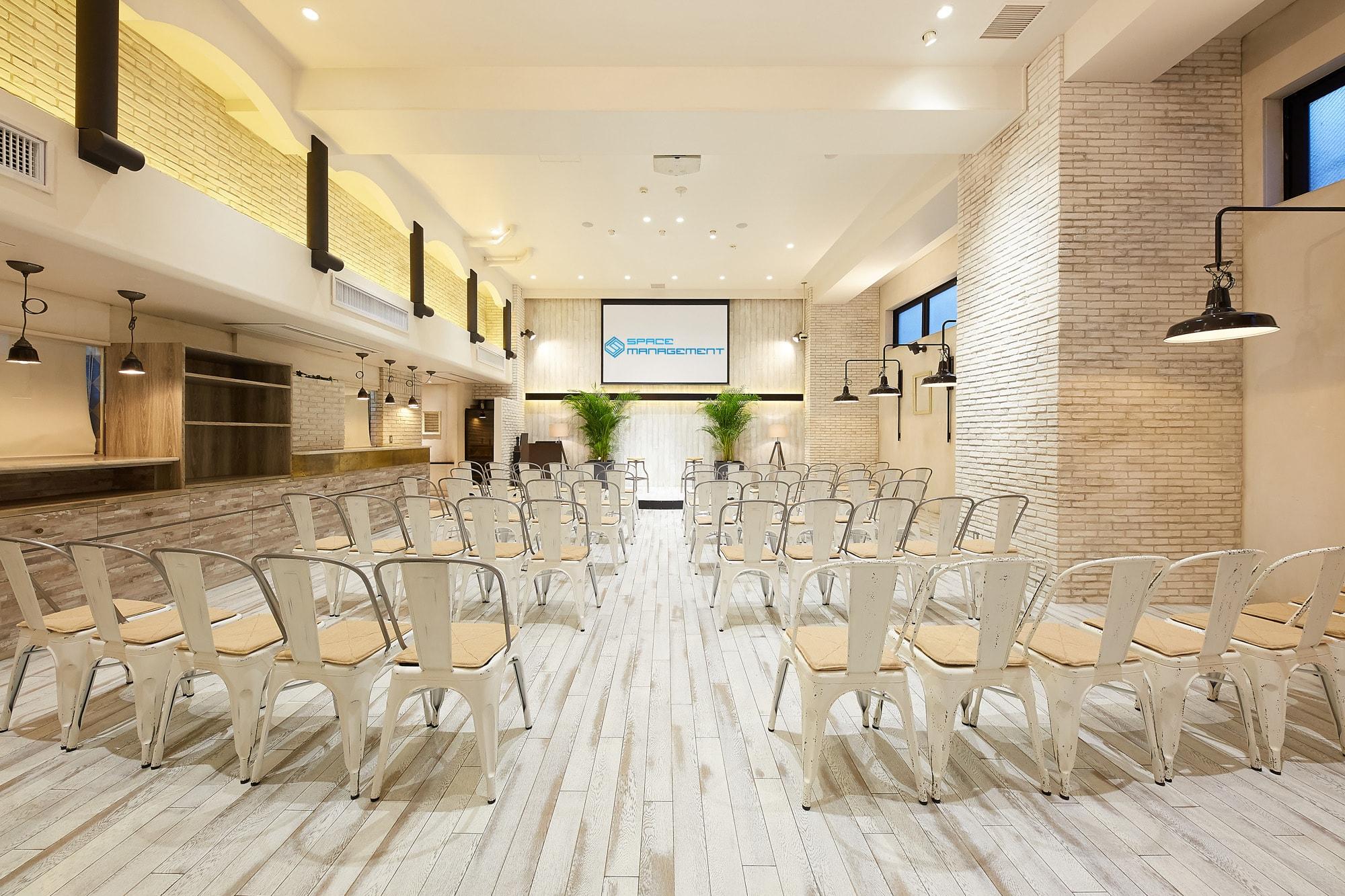 タイムシェアリングが誇る、100名以上収容可能な大型スペース4選|TIME SHARING|タイムシェアリング|スペースマネジメント|あどばる|adval|SHARING