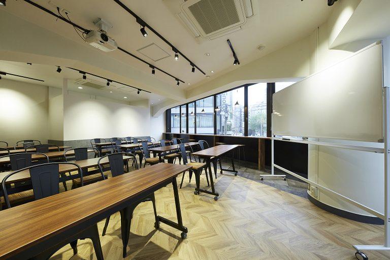 モダンな内装はまるでカフェ!TIME SHARING渋谷宮益坂|TIME SHARING|タイムシェアリング |スペースマネジメント|あどばる|adval|SHARING