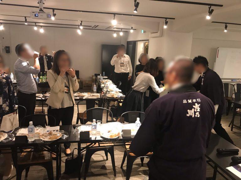 おしゃれでリーズナブルな会場で日本酒試飲会♪|TIME SHARING|タイムシェアリング |スペースマネジメント|あどばる|adval|SHARING