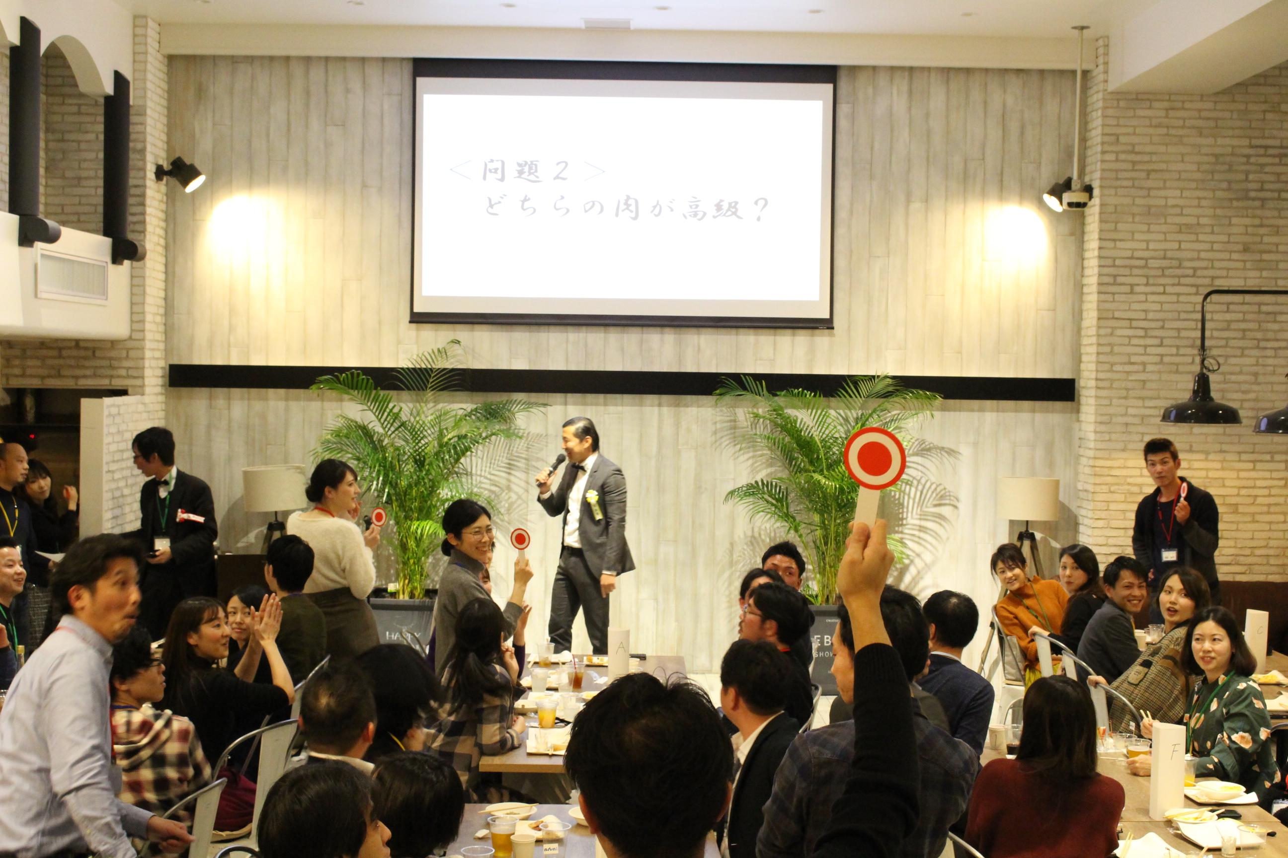 EBISU SHOW ROOMにて、あどばるの新年会を行いました!|TIME SHARING|タイムシェアリング |スペースマネジメント|あどばる|adval|SHARING