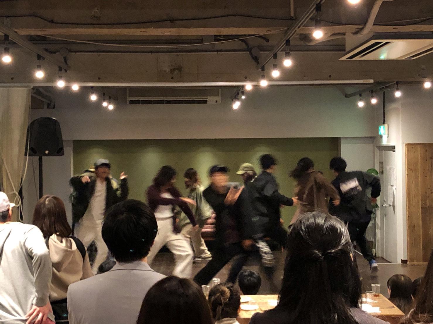 ダンスOKなレンタルスペース!ダンス部OB会@Mace千駄ヶ谷|TIME SHARING|タイムシェアリング|スペースマネジメント|あどばる|adval|SHARING