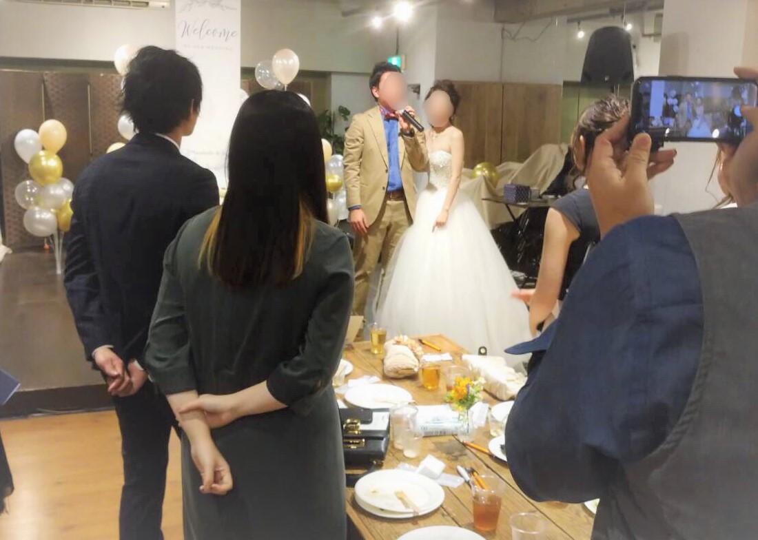 結婚式1.5次会パーティー@Mace千駄ヶ谷|TIME SHARING|タイムシェアリング |スペースマネジメント|あどばる|adval|SHARING